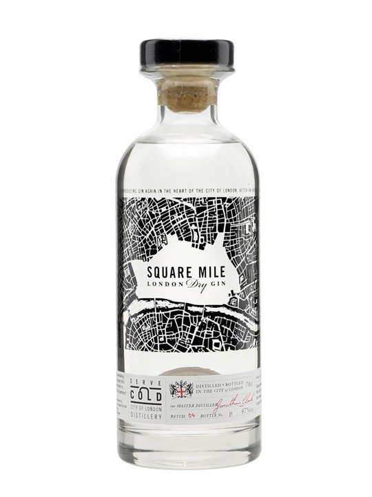 Square Mile London Dry Gin Small Batch Buy From The