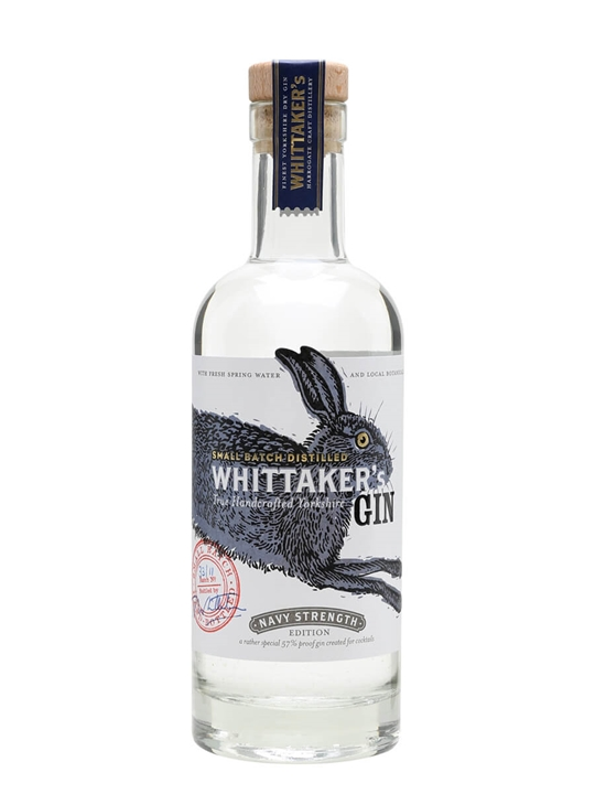 Whittaker's Navy Strength Gin / Half Litre