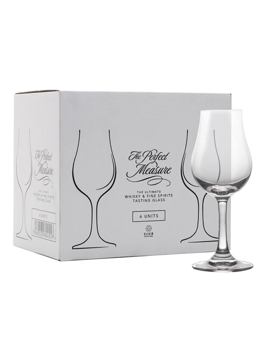 The Perfect Measure Whisky Glass / 6 Pack
