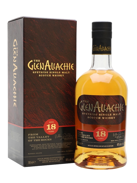 Glenallachie 18 Year Old Scotch Whisky : The Whisky Exchange