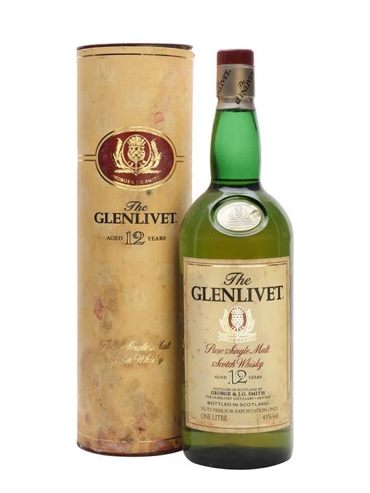 Glenlivet 12 Year Old Scotch Whisky The Whisky Exchange