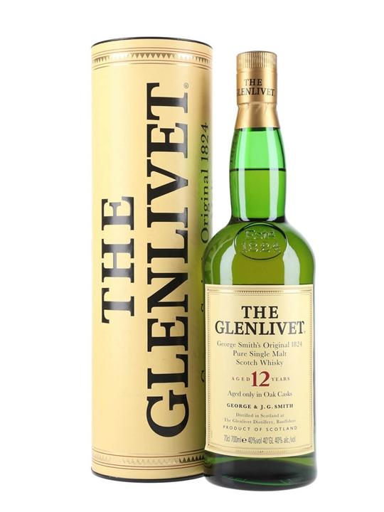 Glenlivet 12 Year Old Old Presentation Scotch Whisky