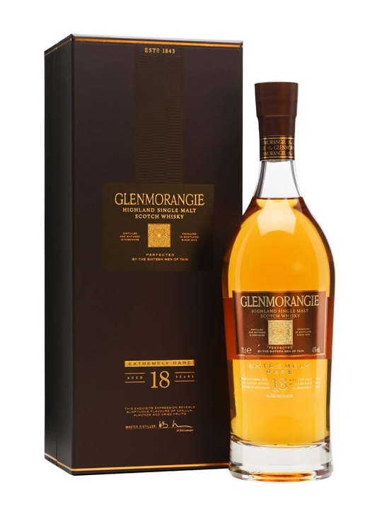 Glenmorangie 18 Year Old Scotch Whisky : The Whisky Exchange
