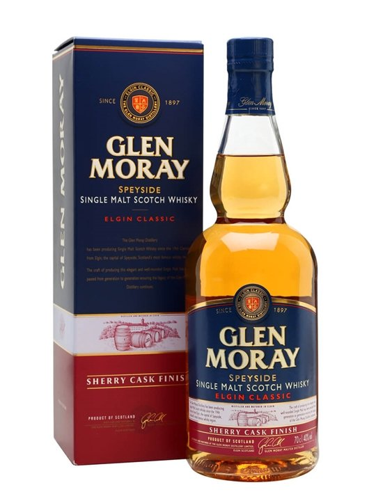 Glen Moray Sherry Cask Finish Scotch Whisky : The Whisky