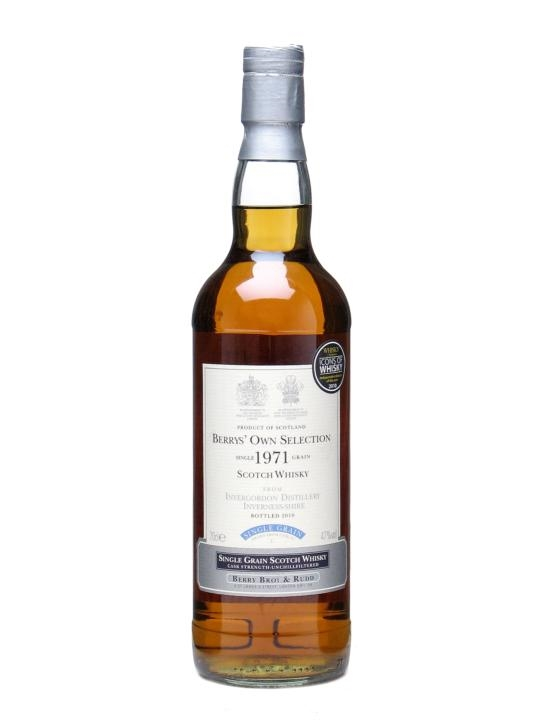 Invergordon 1971 Bot 2010 Berry S Own Selection The