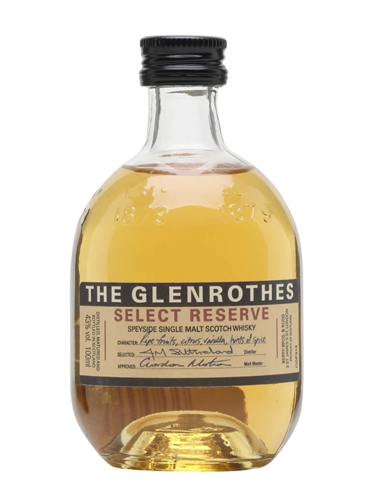Glenrothes Select Reserve / Small Bottle