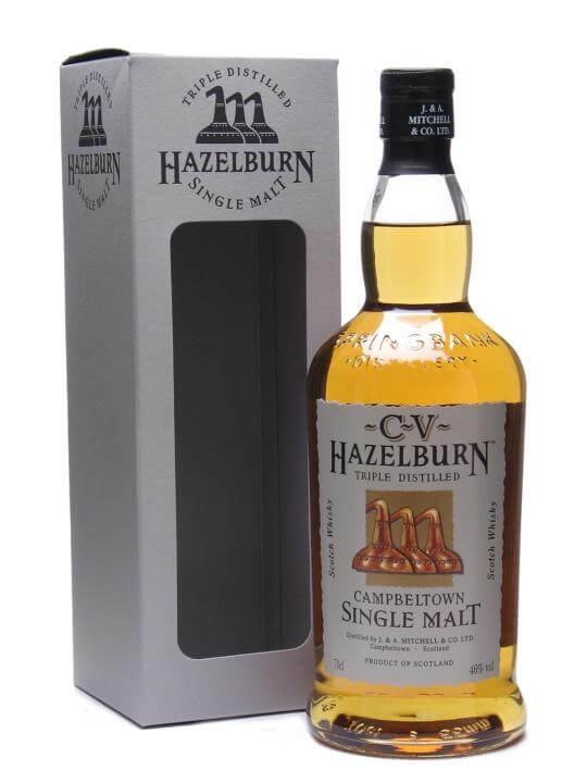 hazelburn cv scotch whisky   the whisky exchange