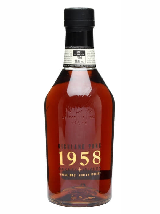 Highland Park 1958 40 Year Old Scotch Whisky The