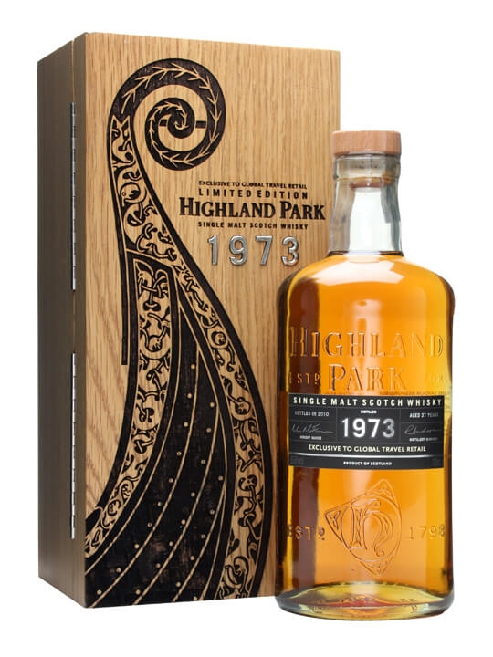 Highland Park 1973 37 Year Old Scotch Whisky The