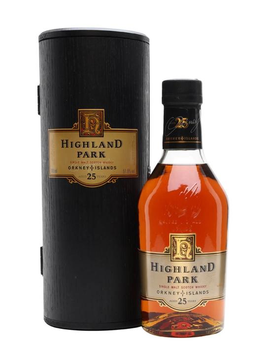 a7299c1bae8 Highland Park 25 Year Old Bot.1990s. 70cl   51.5%. Island Single Malt  Scotch Whisky ...