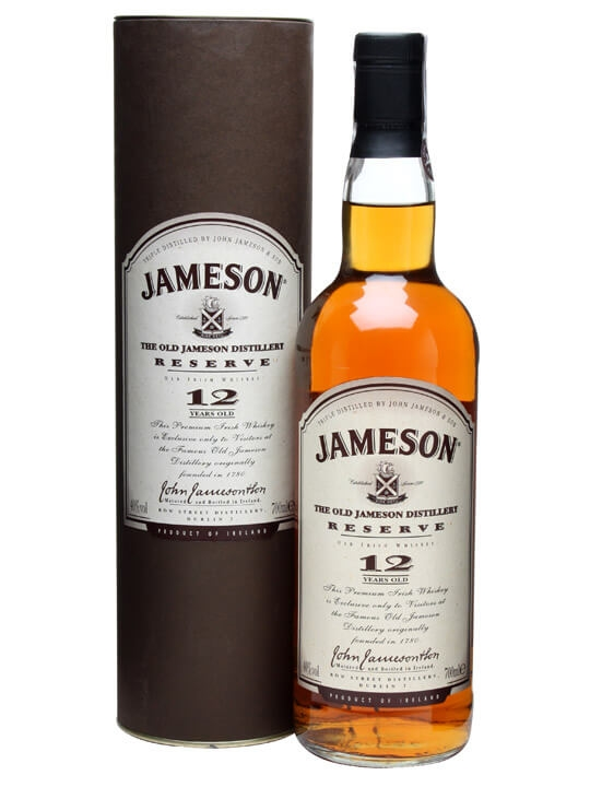 1e024f44d94 Jameson 12 Year Old Distillery Reserve   The Whisky Exchange
