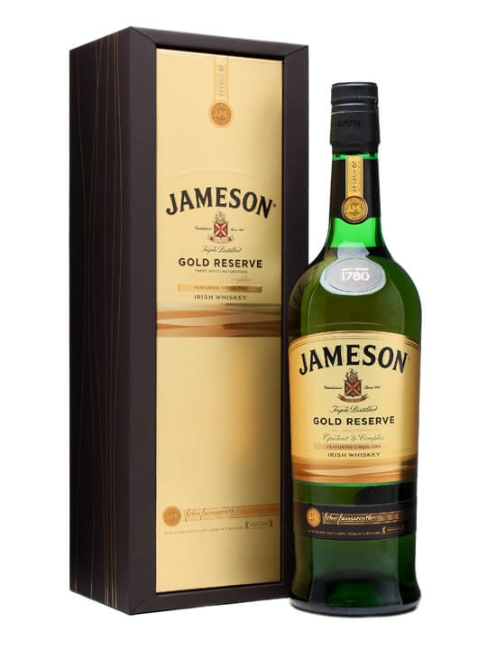 Jameson gold reserve the whisky exchange