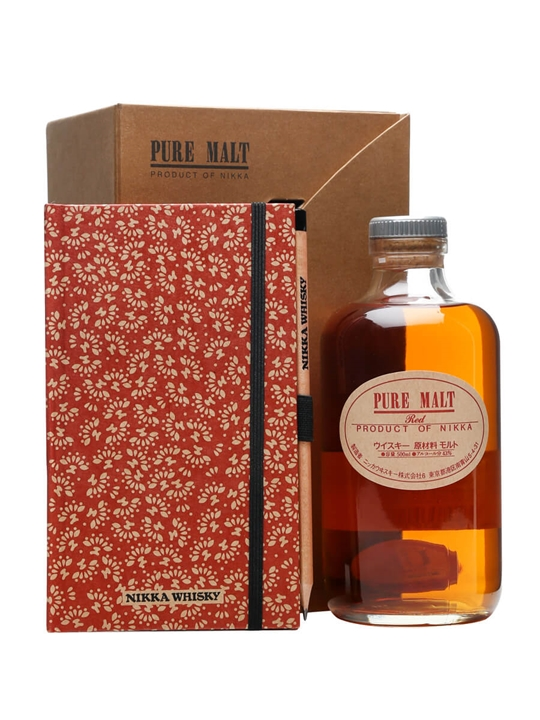Nikka Pure Malt Red / Notepad and Pencil Set