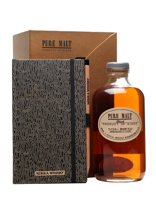 Nikka Pure Malt Black / Notepad and Pencil Set