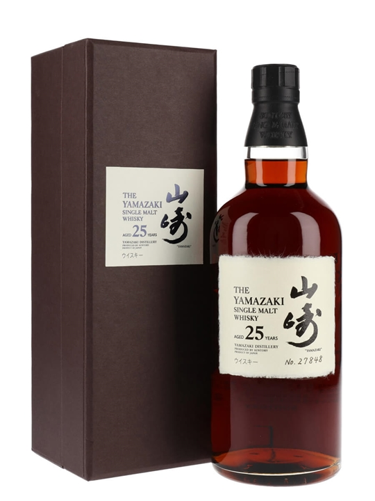 Suntory Yamazaki 25 Year Old Sherry Cask The Whisky