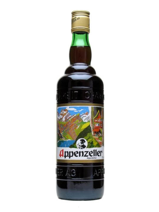 Appenzeller Alpenbitter Liqueur The Whisky Exchange