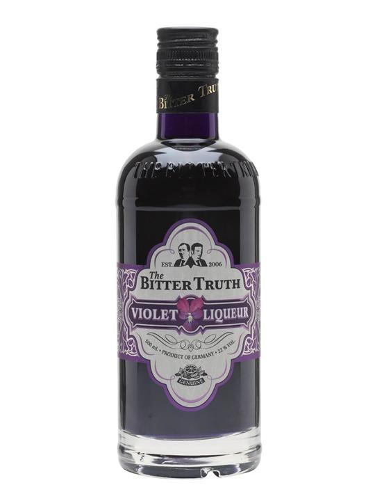 Bitter Truth Violet Liqueur Creme De Violette The