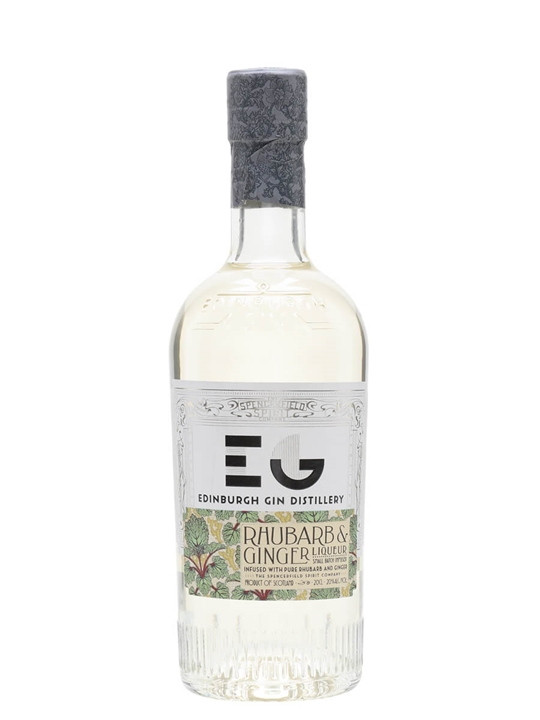 Edinburgh Rhubarb & Ginger Gin Liqueur / Small Bottle