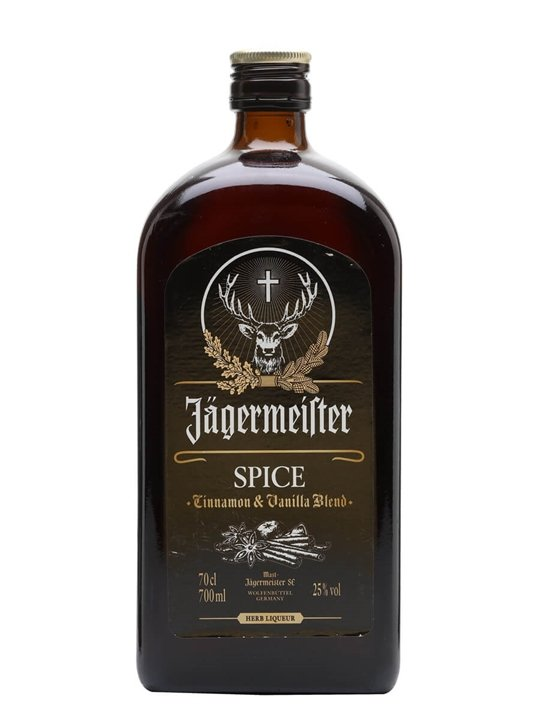 Jagermeister Spice Winterkrauter Liqueur The Whisky