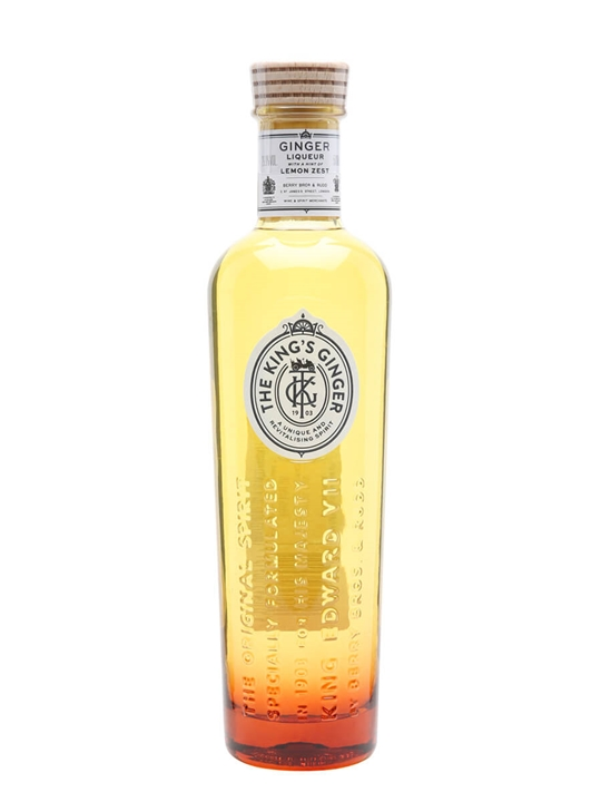 the king u0026 39 s ginger liqueur   the whisky exchange