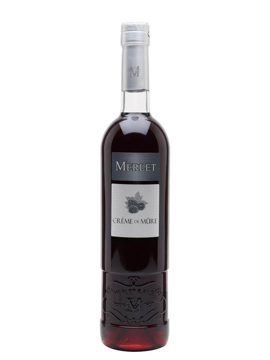 Merlet Creme De Mure Sauvage Wild Blackberry Liqueur