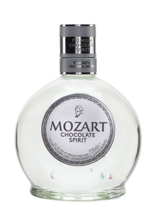 Mozart Dry Chocolate Spirit : The Whisky Exchange