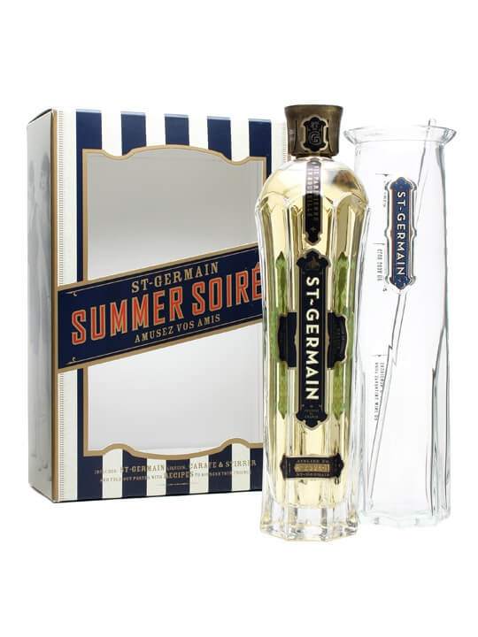 St Germain Elderflower Liqueur - Cocktail Kit Gift Set
