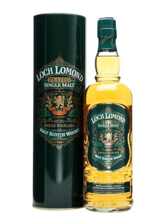 Loch Lomond Green Label Peated Scotch Whisky The