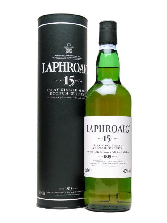 Laphroaig 15 Year Old Scotch Whisky The Whisky Exchange