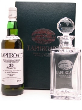 Laphroaig 15 Year Old - With Crystal Decanter Scotch Whisky   The Whisky  Exchange a084215b6