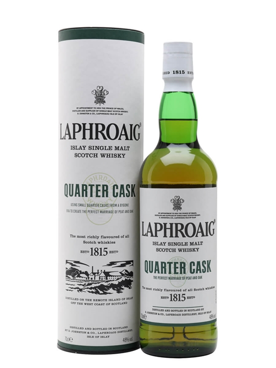 Laphroaig Quarter Cask Scotch Whisky The Whisky Exchange