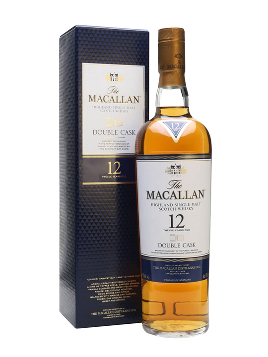 Macallan 12 Year Old Double Cask Scotch Whisky The