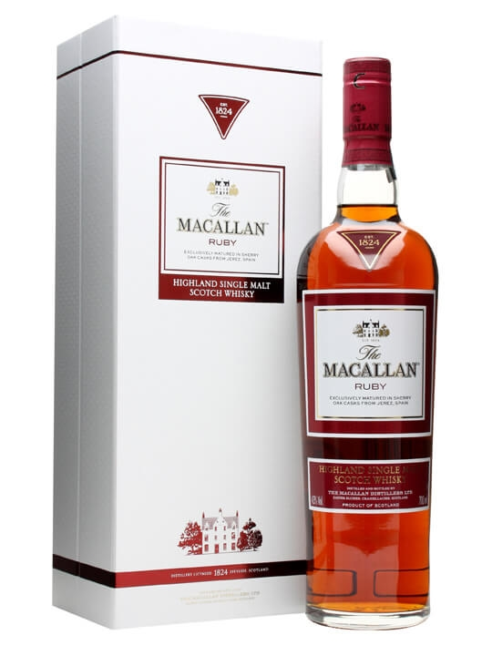 Macallan Ruby The 1824 Series Scotch Whisky The Whisky