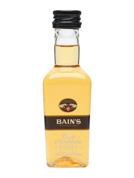 Bain 39 s cape mountain whisky miniature the whisky exchange for Bain s cape mountain whisky