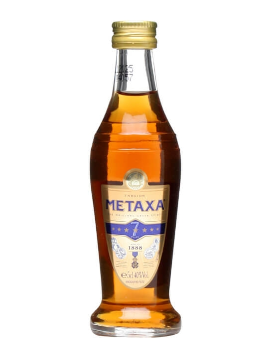 Metaxa 7 Brandy Miniature The Whisky Exchange