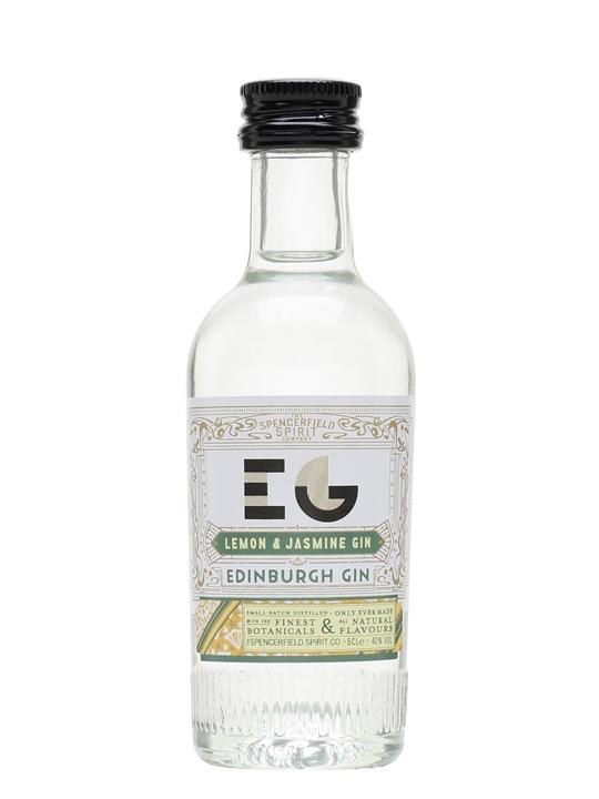 Edinburgh Lemon and Jasmine Gin / Miniature