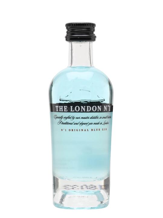 The London No 1 Original Blue Gin Miniature The Whisky