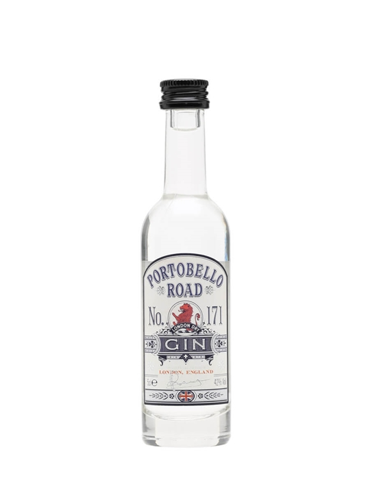Portobello Road No.171 London Dry Gin 5cl Miniature