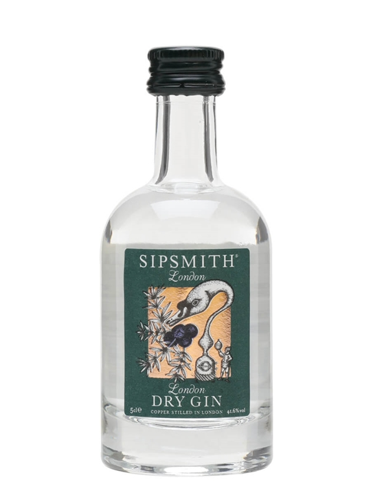 Sipsmith London Dry Gin 5cl Miniature