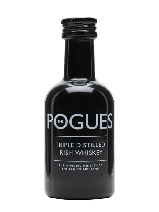 The Pogues Irish Whiskey Miniature