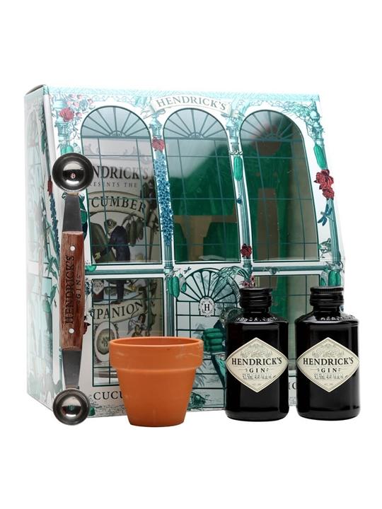 Hendrick S Cucumber Hothouse Miniature Set 2x5cl The