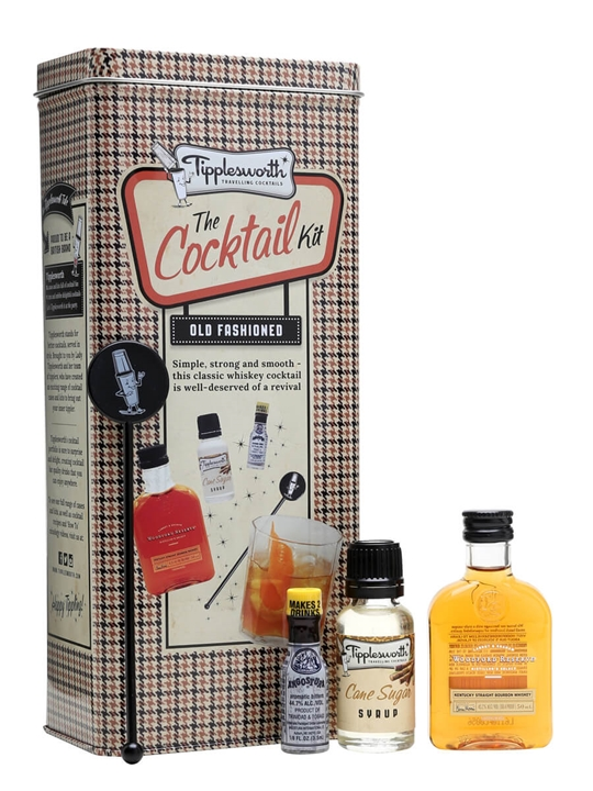 Tipplesworth Old Fashioned Mini Cocktail Kit The Whisky