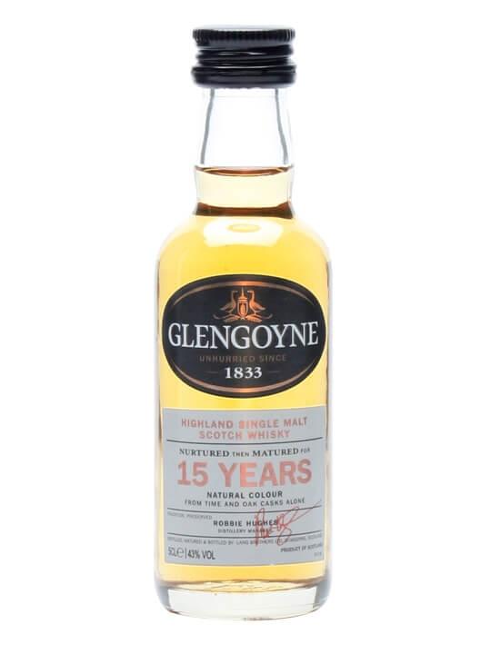 Glengoyne 15 Year Old Miniature