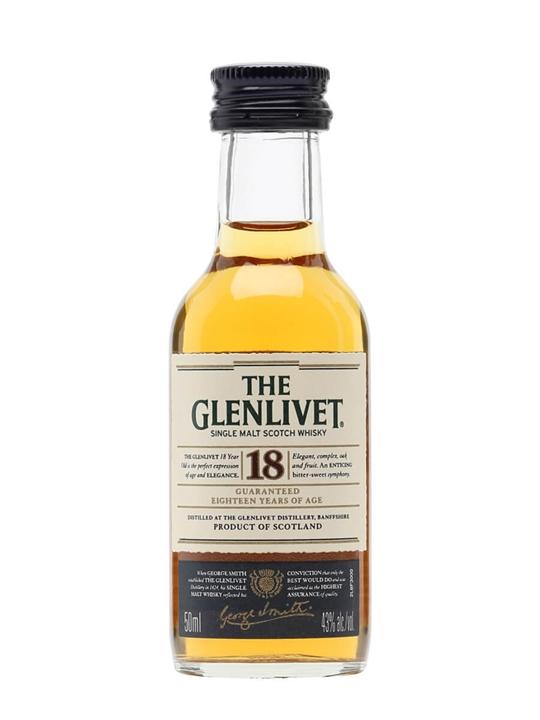 Glenlivet 18 Year Old Miniature