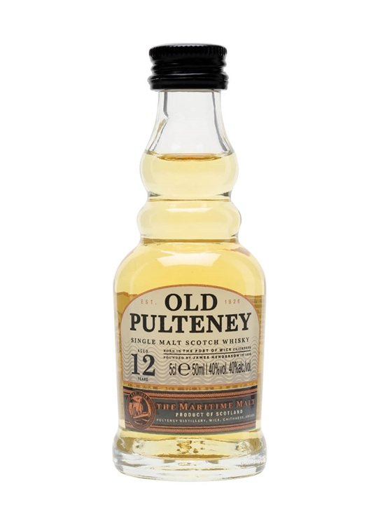 Old Pulteney 12 Year Old Miniature