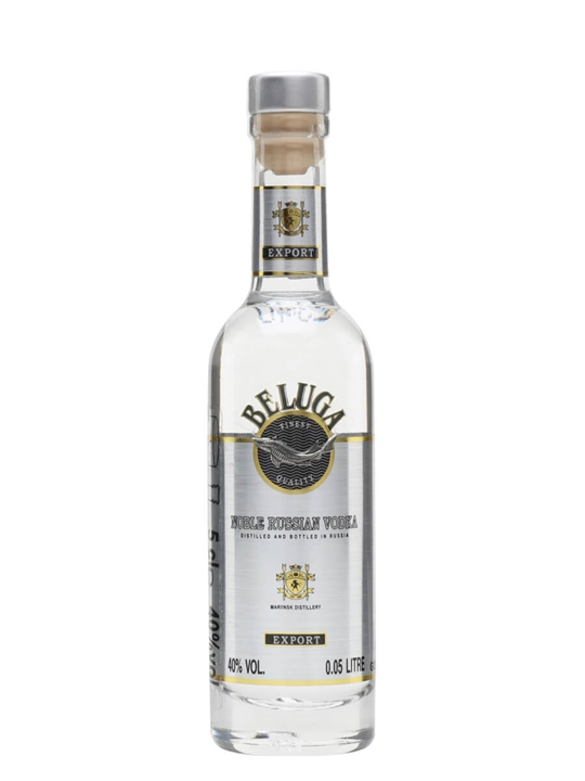Beluga Noble Russian Vodka / Miniature