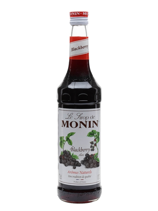 Monin Blackberry Syrup The Whisky Exchange