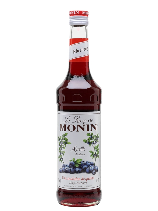 Monin Blueberry Syrup The Whisky Exchange