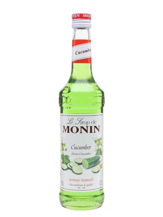 monin cucumber syrup   the whisky exchange