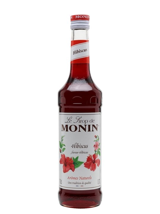 Monin Hibiscus Syrup The Whisky Exchange